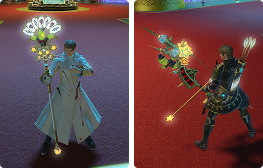 Sabotender weapons for Cactbutts - check out this cane! #Cactuar #FFXIV #Stormblood